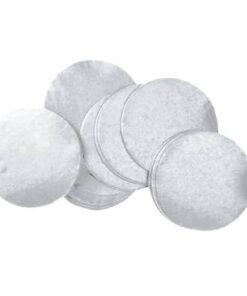 Løs metal konfetti, metal konfetti runde, metal runde, konfetti runde, Løse metal konfetti