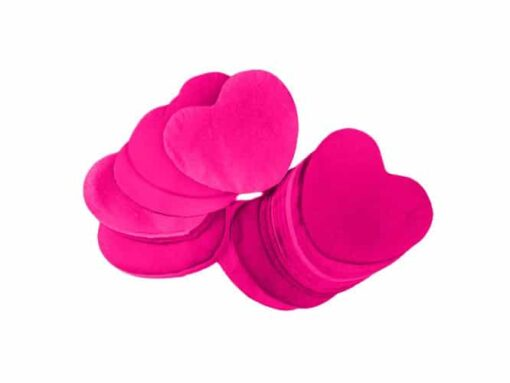 Løs papir konfetti, papir konfetti hjerter, papir hjerter, konfetti hjerter, Løse papir konfetti