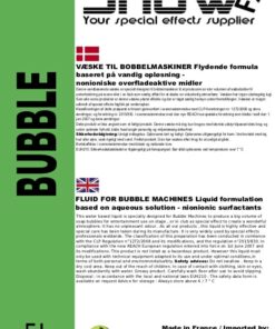 boblevæske, boble væske, bubble væske