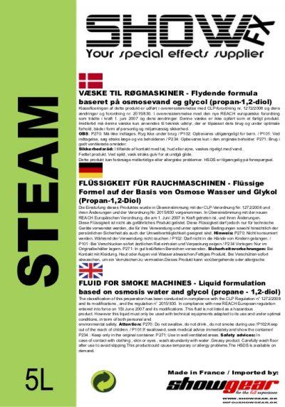 Show Fx steam, co2 røgvæske