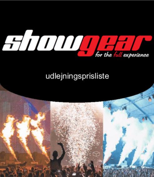 ShowGear Udlejningskatalog