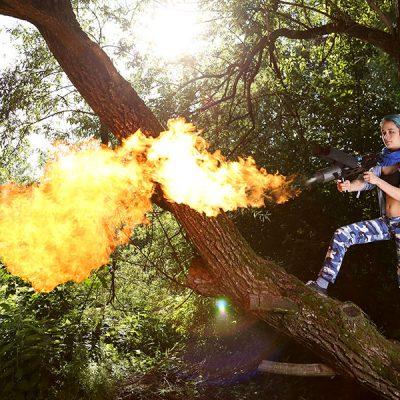 Flame Gun GX3, GX3, flamme gun
